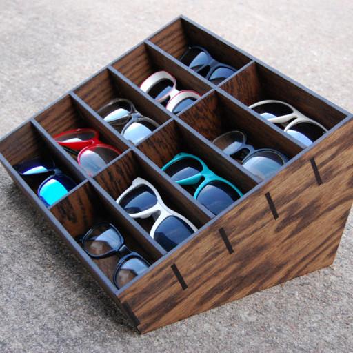 Organizador de gafas